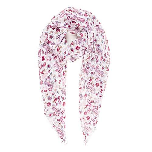 MELIFLUOS DESIGNED IN SPAIN Pañuelos Fular Foulard Mujer Bufandas Estampado Diseño Español 100% Viscosa (SS52)