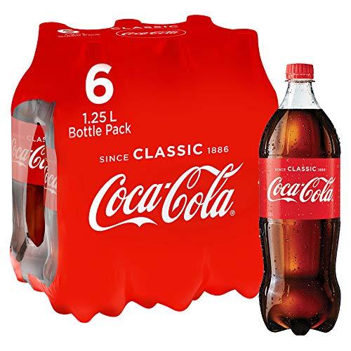 Coca-Cola Soft Drink Multipack Bottles 6 x 1.25L