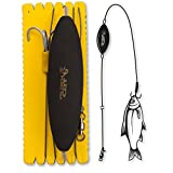 Black Cat #2/0 U-Float Rig Treble Hook L 100kg 1Stück 1,20m, L