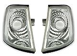 AD Tuning GmbH & Co. KG 960351Frontal Set de Intermitentes, Vidrio Claro Cromo