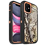 AICase for iPhone 11 Case (6.1'), Drop Protection Full Body Rugged Heavy Duty Case, Shockproof/Drop/Dust Proof 3-Layer Protective Durable Cover for Apple iPhone 11 6.1-inch