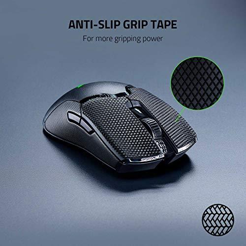 Razer Mouse Grip Tape für Razer Viper + Viper Ultimate (Rutschfest, Selbstklebend, Vorgeschnitten)