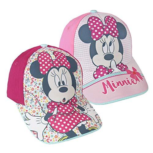 Minnie Mouse S0717159 Hat, Rosa, Talla única Unisex-Child