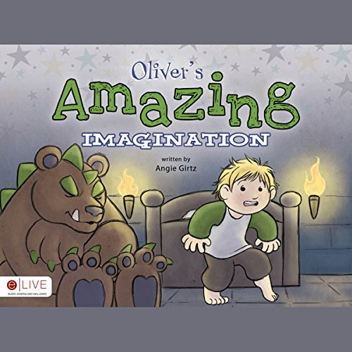 Oliver's Amazing Imagination audiobook cover art