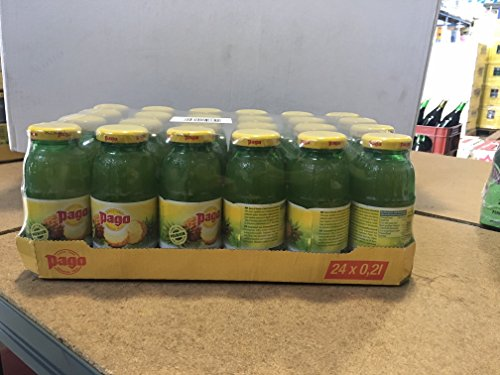 Pago Fruchtsaft - Ananas 24x0,2l