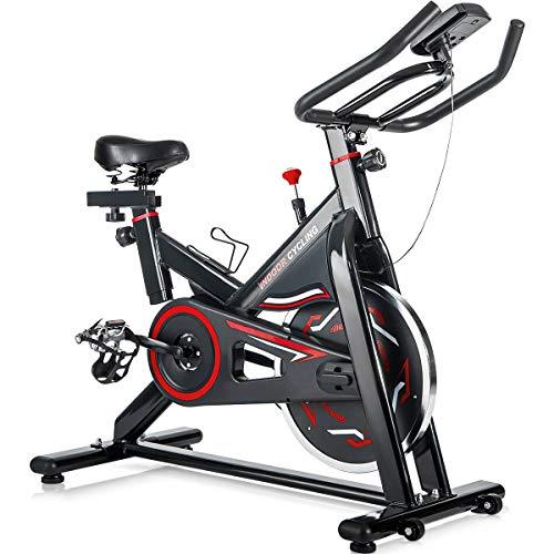 Merax Deluxe Indoor Cycling Bike