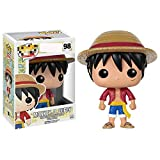 ZXZX 1Pcs Funko Pop One Piece * 10cml Luffy 98 The Child Juguete Coleccionable, Multicolor