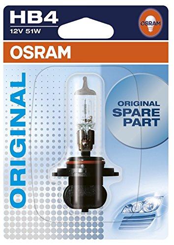 Osram ORIGINAL HB4, 9006-01B, 12V, Einzelblister