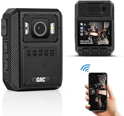 GRC 1512P HD WiFi Police Body Camera 128G Memory 4000mAh Battery Premium Body Worn Camera Waterproof product image