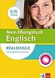 Klett Mein Übungsbuch Englisch 5./6. Klasse: für Realschule und vergleichbare Schulformen: Buch mit Online-Abschlusstests