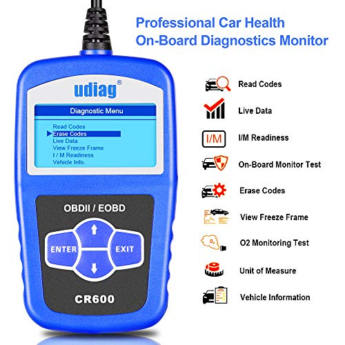 Read About OBD2 Scanner OBD Car Diagnostic Tool Code Reader Obdii Scanners Universal Cars Code Reade...