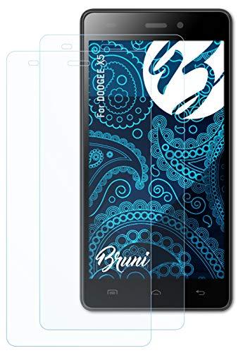 Bruni Schutzfolie kompatibel mit DOOGEE X5 Folie, glasklare Bildschirmschutzfolie (2X)