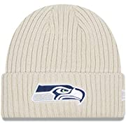 Material: 100% Acrylic - Shell; 90% Polyester/10% Wool - Lining Stretch fit Embroidered graphics with raised details One size fits most Cuffed knit hat