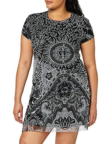 Desigual Womens Vest_Paris Casual Dress, Black, S
