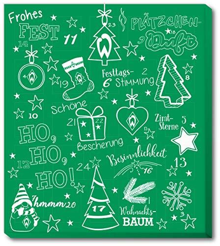 Fussball SV Werder Bremen Premium Adventskalender mit Poster Weihnachtskalender