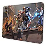 Laimizhepen Tf2 Non-Slip Rubber Mouse Mat for Office and Home Laptop Desktop Mousepad 7.9x9.5 Inch