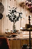 Dekoteller Schale Servierplatte Aluminium Deko Dekoration Silber Luxus - Moderne Dekoschale aus Metall - Tischdeko Hochzeit - Weihnachtsdeko für Wohnzimmer, Esszimmer oder Küche - XXL 40 cm - 3