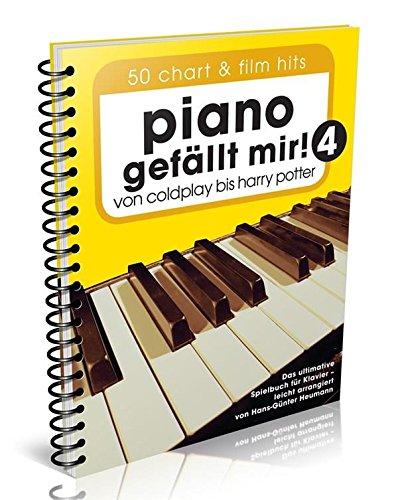 Piano gefällt mir! Band 4 - 50 Chart und Film Hits - von Coldplay bis Harry Potter - das ultimative Spielbuch für Klavier von Hans-Günter Heumann (Variante Spiralbindung mit Notenklammer)