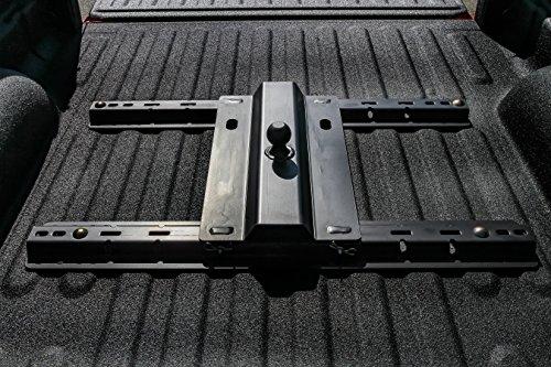 EAZ LIFT 48554 Gooseneck Ball Plate for 5th Wheel Rails,1 Pack