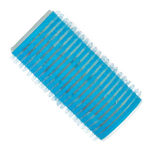 Fripac-Medis - Thermo Magic Rollers - Bigoudis - Bleu Clair - Diamètre : 28 mm - Lot de 12