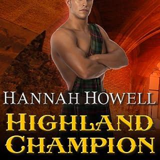 Highland Champion audiobook cover art