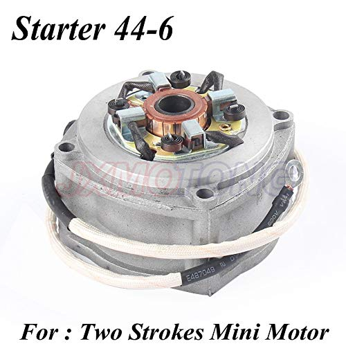 Motorfiets Starter Motor 2 Twee slagen Mini Moto Mini Bike Pocket Bike 44-6 Motor Mini ATV Quads Elektrische Sccoters