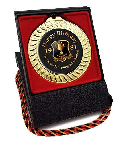 Medaille Orden zum 40. Geburtstag - Der Beste Jahrgang Aller Zeiten