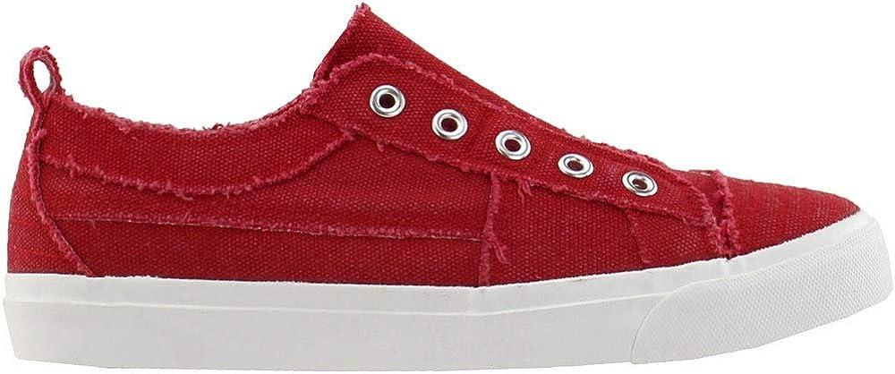 Corkys Womens Babalu Casual Slip On Sneaker