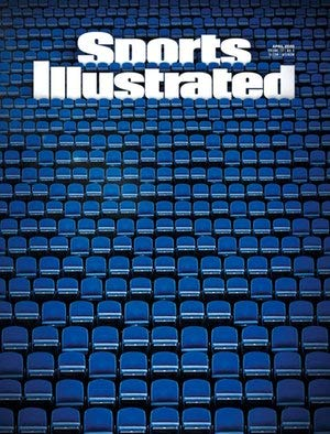 Sports Illustrated Magazine April 2020   NFL Draft Guide (Empty Stadium cover)