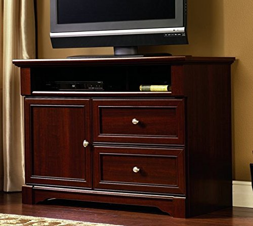 "Sauder Palladia High Boy TV Stand, For Tv's up to 50"", Select Cherry finish"