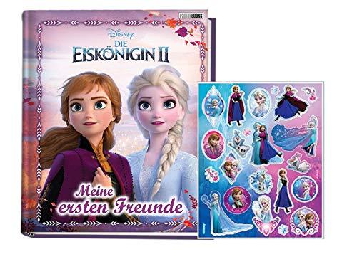 Eiskönigin Disney 2: Meine ersten Freunde (Kindergartenfreundebuch) + Frozen -Sticker, ab 3