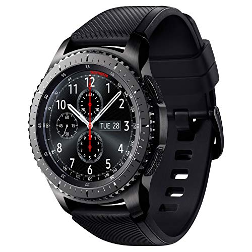 kytuwy Armband mit Galaxy Watch 3 45mm - Gear s3 Armband, Smartwatch Ersatzarmbänder 22mm, Silikon Sportarmband für Galaxy Watch 46mm /Gear S3 Classic/Gear S3 Frontier Smartwatch(schwarz)
