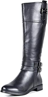 Best suede over the knee boots wide calf Reviews