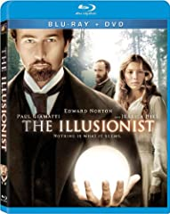 The Illusionist - Blu-ray + DVD Brand New