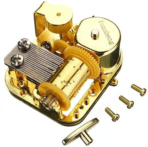 DIY Music Box Parts Musical Movement Elfen Lied and Over the Rainbow Tune