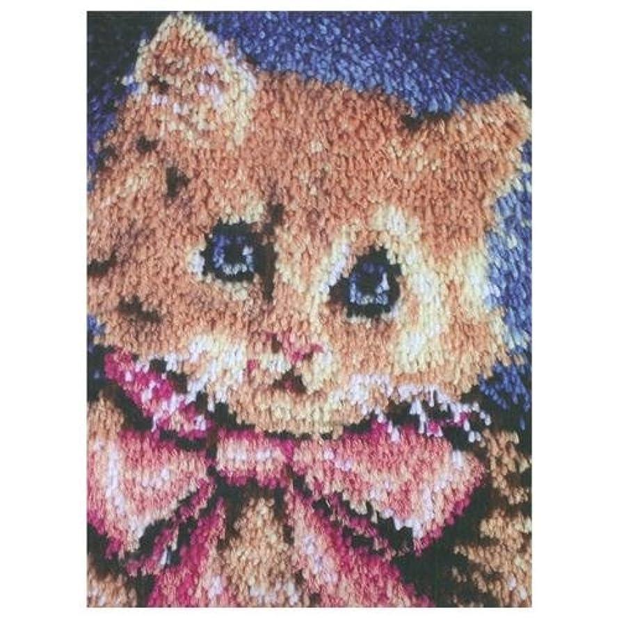 Caron WonderArt 15x20 Latch Hook Kit: Prize Kitty