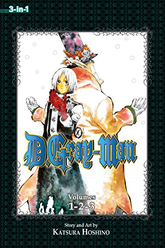 D.Gray-Man 1: 3-in-1 Edition: Includes vols. 1, 2 & 3