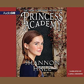 Princess Academy audiobook cover art