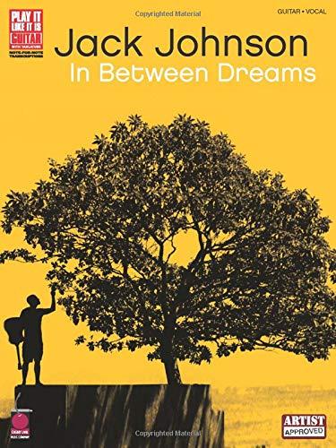 Jack Johnson In Between Dreams Tab Book