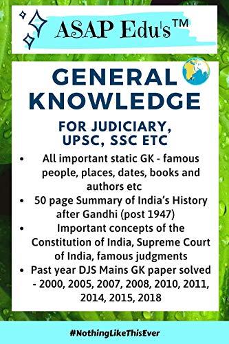 ASAP Edu's GK for Judiciary, UPSC, SSC
