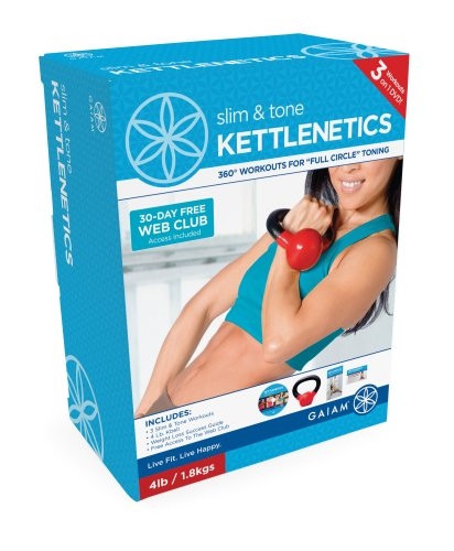 Gaiam Kettlenetics Slim & Tone