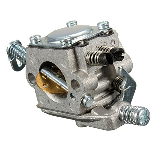 REFURBISHHOUSE Carb carburador para STIHL 025 023 021 MS250 MS230 reemplazo de Motosierra zama walbro de Color de Plata