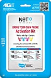 Net10 Bring Your Own Phone SIM Activation Kit –...