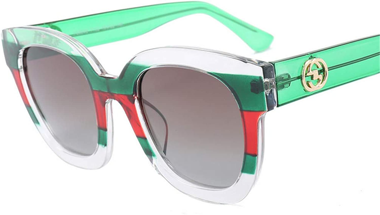 Sunglasses,Mens and Womens Polarized 400UV Fashion Couple Predection Classic Style Green