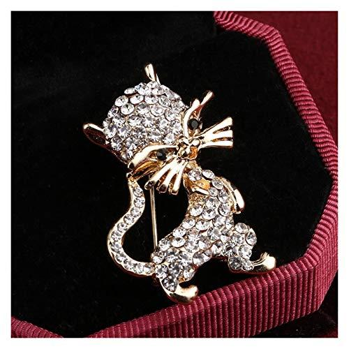 Fylsdes Brooch Flower big brooch Grape Pins and brooches wedding corsage dress coat brooch pin accessories Novelty Jewellery (Metallfarbe : XZ061)