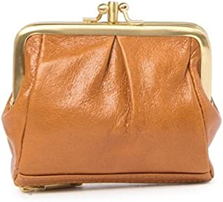 Hobo Minnie Leather French Wallet - Caramel