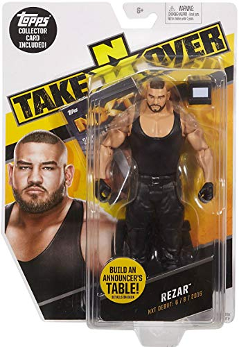 WWE NXT Takeover Rezar Action Figure