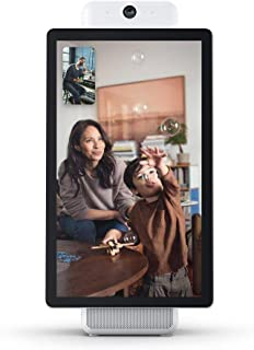 """Portal Plus from Facebook. Smart, Hands-Free Video Calling with Alexa Built-in [15.6"""" Display] – White (US Version)"""