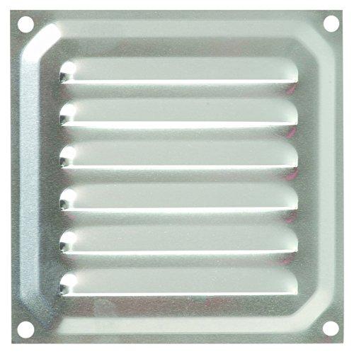 Brinox B70210A Rejilla de ventilación, Aluminio, 10 x 10 cm