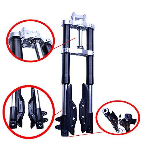 FLYPIG Front Forks Suspension Fit for XR50 CRF50 XR CRF 50 SDG SSR PIT BIKES FK05 SSR SDG 125 110